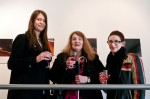 Morwenna Kearsley, Rosita McKenzie and Kate Martin at the opening of An Alternative