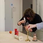 Participants explore object composition using the sim-specs