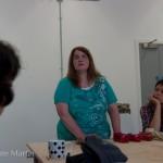 Rosita introducing the workshop