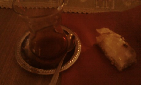 Turkish Tea and Baklava at HomeBase's Feuer und Flamme Festival
